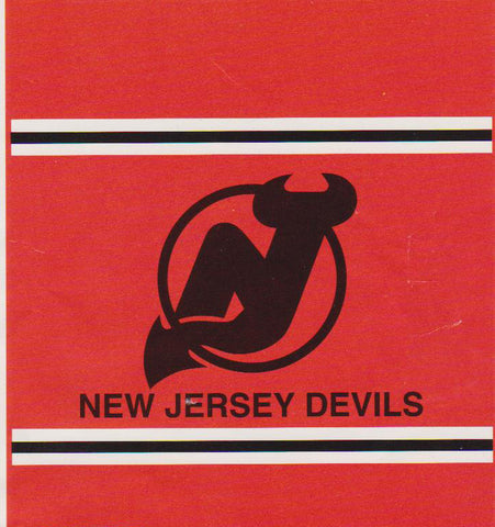 New jersey Devils Blanket.Throw - Sports Nut Emporium