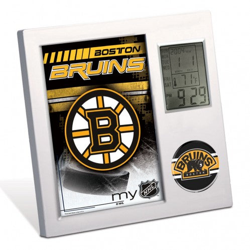 Boston Bruins NHL  Desk Clock - Sports Nut Emporium