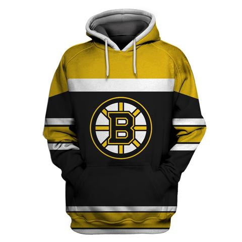 Boston Bruins Mens pullover Hoodie  Sweatshirt - Sports Nut Emporium