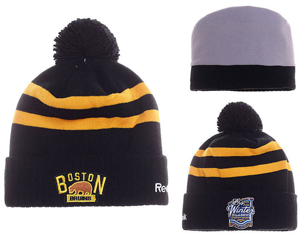 Boston Bruins 2016 Winter Classic Knit Beanie - Sports Nut Emporium