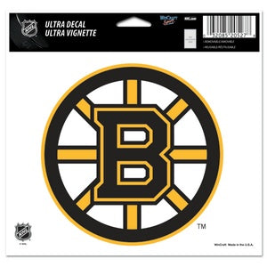 Boston Bruins Multi Use Decal - Sports Nut Emporium