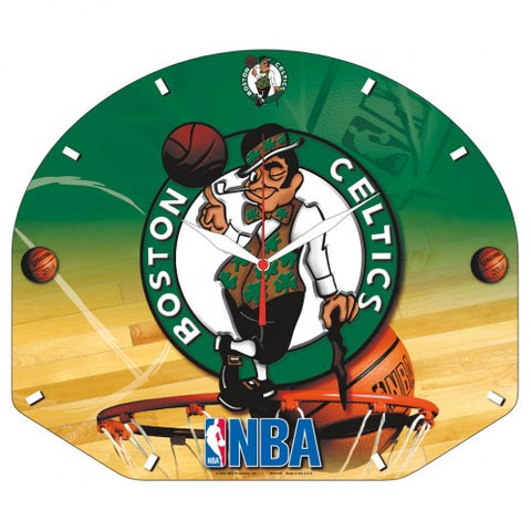 Boston Celtics High Definition Backboard wall clock - Sports Nut Emporium