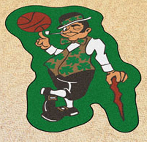 Boston Celtics NBA Mascot area Rug - Sports Nut Emporium
