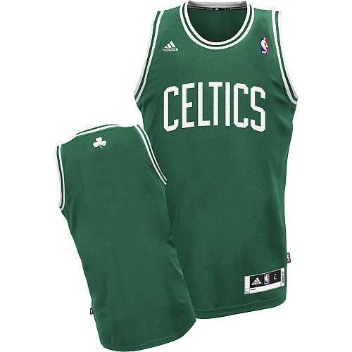 Boston  Celtics Reveloution 30 Blank Green Stitched NBA Jersey - Sports Nut Emporium