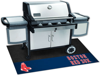 Boston Red Sox Barbeque Grill Mat - Sports Nut Emporium