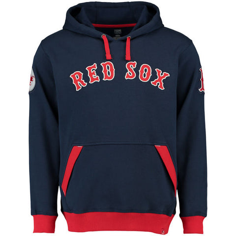 Boston Red Sox Navy Blue Front Pocket Pullover hoodie - Sports Nut Emporium