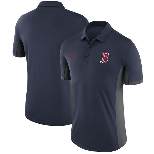 newest 40be9 79d05 Boston Red Sox Men's Nike Navy Franchise Polo Collared Shirt