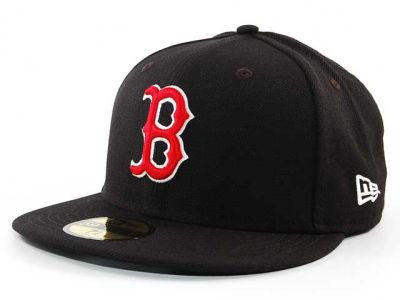 BOSTON RED SOX 59 FIFTY FITTED HATS BLACK - Sports Nut Emporium
