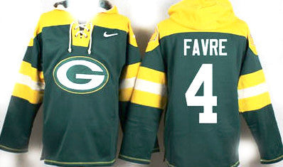 Brett Favre Green Bay Packers pullover Hoodie - Sports Nut Emporium