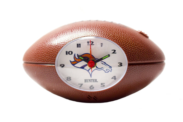 Denver Broncos NFL alarm clock - Sports Nut Emporium