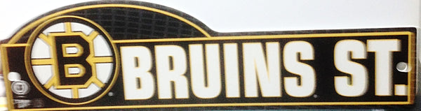 Boston Bruins NHL  Street Sign