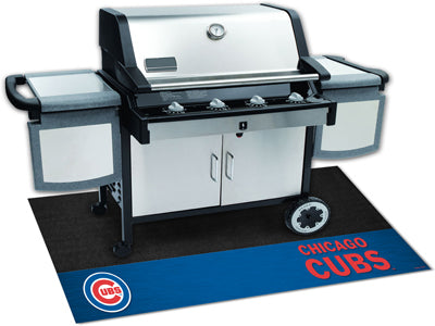 Chicago Cubs Barbeque Grill Mat - Sports Nut Emporium