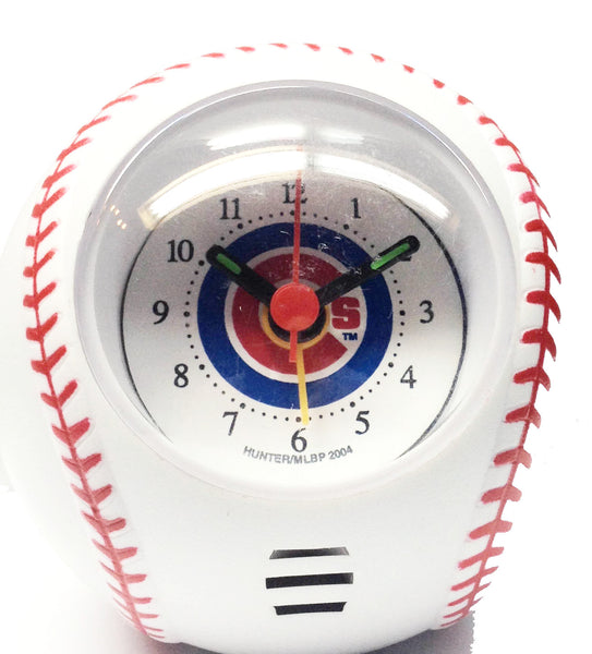 Chicago Cubs Travel Baseball alarm clock - Sports Nut Emporium