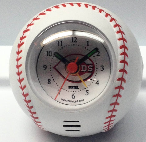 Cincinnati Reds Travel Alarm Clock - Sports Nut Emporium