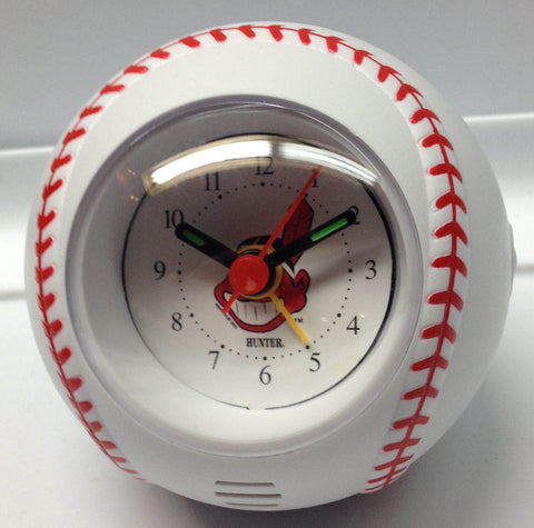 Cleveland Indians Baseball Travel Alarm Clock - Sports Nut Emporium