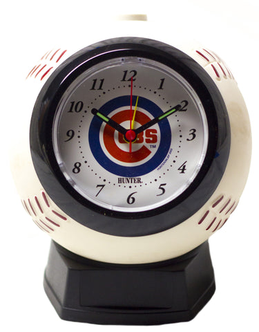 Chicago Cubs MLB baseball alarm clock - Sports Nut Emporium