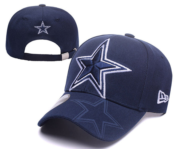 Dallas Cowboys Curved Bill Snap Back hat - Sports Nut Emporium