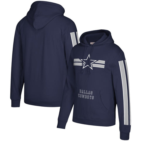 Dallas Cowboys Gridiron Pullover Hoodie Sweatshirt - Sports Nut Emporium