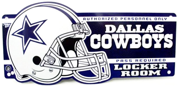 Dallas Cowboys Locker Room Sign - Sports Nut Emporium