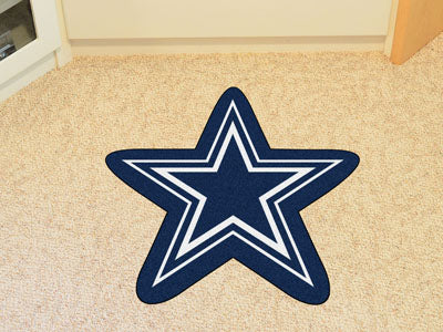Dallas Cowboys NFL  Mascot Fan Mat - Sports Nut Emporium