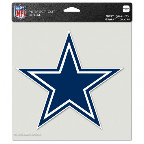 Dallas Cowboys  8'' x 8'' Color Car Decal - Sports Nut Emporium