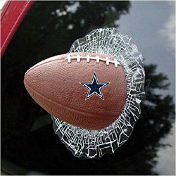 Dallas Cowboys Shatter Ball Decal - Sports Nut Emporium