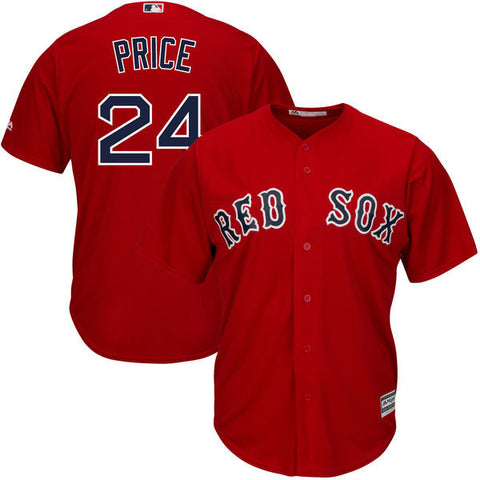 David Price Boston Red Sox Red Jersey-Sports  Nut Emporum