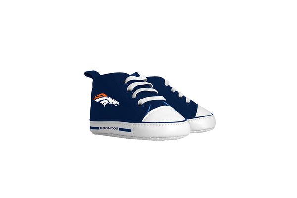 Denver broncos High Top Pre Walkers - Sports Nut Emporium