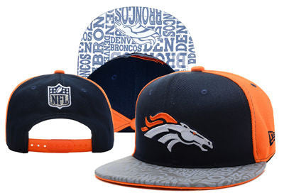 Denver Broncos Luminous Effect Adjustable Snap Back Hat - Sports Nut Emporium