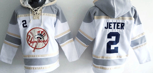 Derek Jeter New York Yankees Pullover Hoodie - Sports Nut Emporium