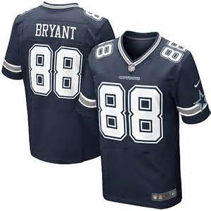 Dez Bryant Nike Elite NFL football jersey (blue) - Sports Nut Emporium
