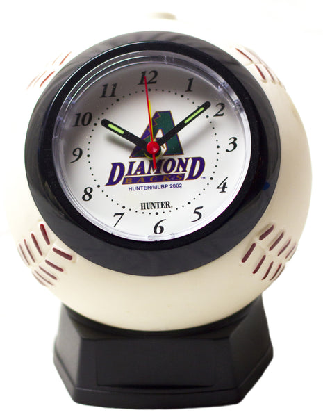 Arizona DiamondBacks MLB baseball alarm clock - Sports Nut Emporium