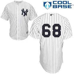 Dellin Betances New York Yankees White Stitched MLB Jersey - Sports Nut Emporium