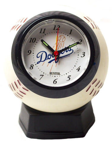 Los Angeles Dodgers baseball alarm clock - Sports Nut Emporium