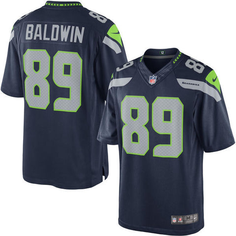 Doug Baldwin Seattle Seahawks Navy Blue jersey - Sports Nut Emporium
