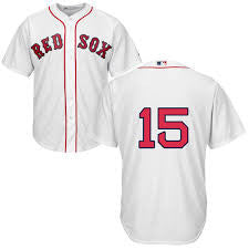Dustin Pedroia # 15 Boston Red Sox jersey (white) - Sports Nut Emporium