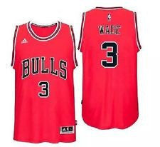 Dwayne Wade  Chicago Bulls  Revolution 30 Swingman Red jersey - Sports Nut Emporium