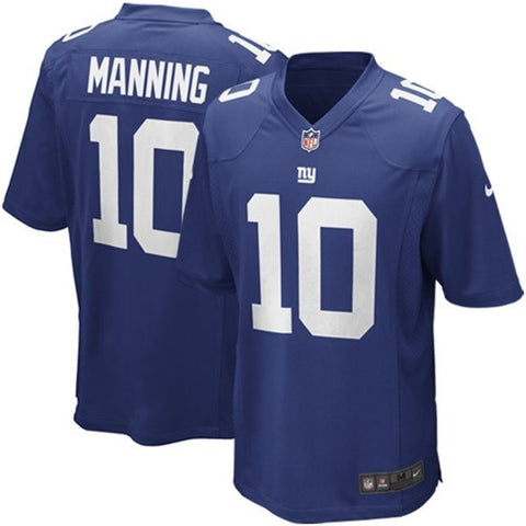 Eli Manning # 10 New York Giants  Nike Elite Men's Stitched NFL Jersey (royal )blue) - Sports Nut Emporium