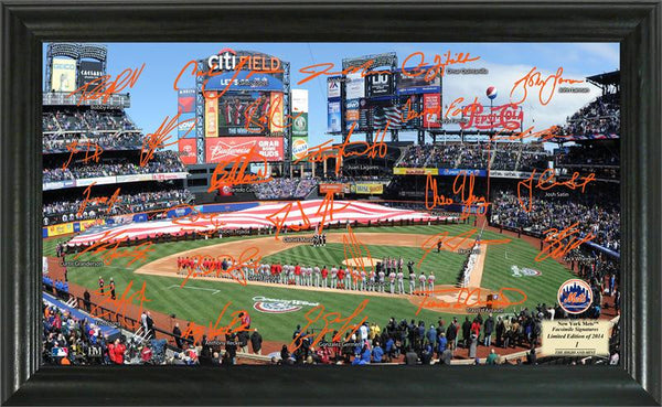 New York Mets Signature Field - Sports Nut Emporium