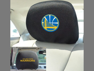 Golden State Warriors Head rest Covers - Sports Nut Emporium