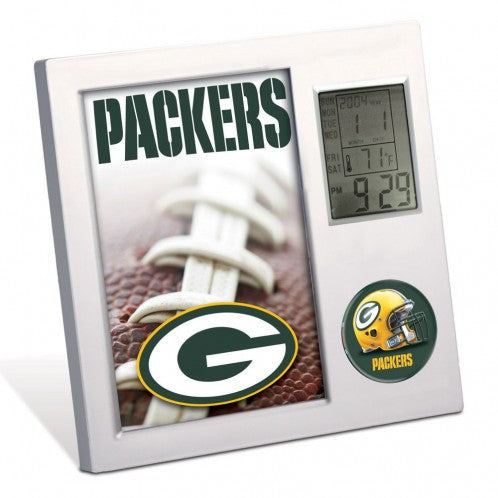 Green Bay Packers  NFL Desk Clock - Sports Nut Emporium