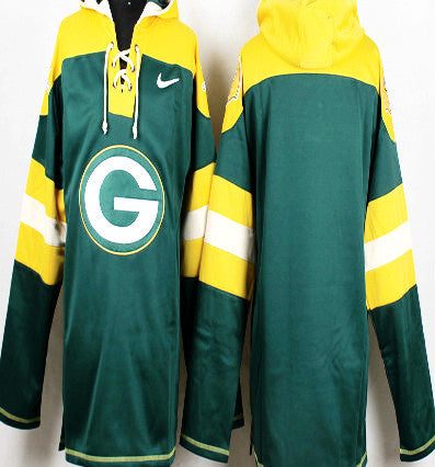 Green Bay Packers Pullover Hoodie - Sports Nut Emporium