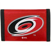 Carolina Hurricanes nylon wallet - Sports Nut Emporium