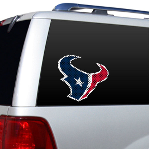 Houston Texans Large Window Decal - Sports Nut Emporium