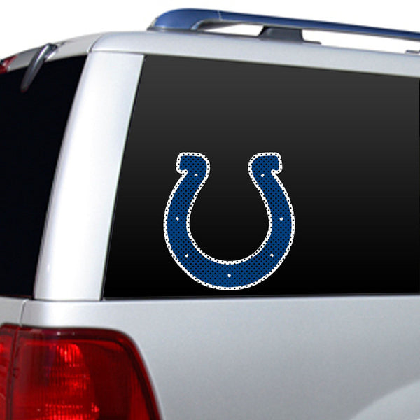 Indianapolis Colts Large Window Decal - Sports Nut Emporium