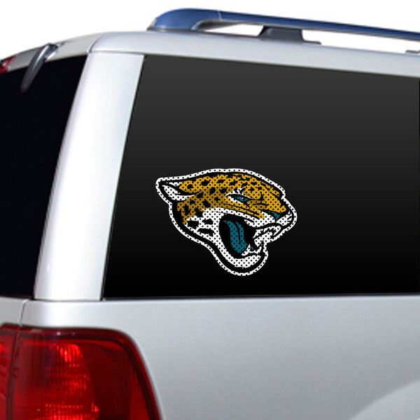 Jacksonville Jaguars Large Window decal - Sports Nut Emporium