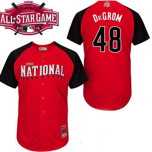 the best attitude d6972 b90e8 Jacob deGrom New York Mets 2015 All Star jersey