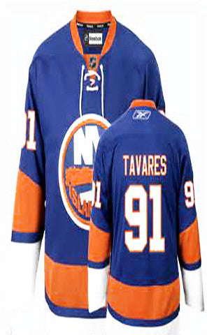 John Tavares Light Blue Stitched NHL Jersey - Sports Nut Emporium