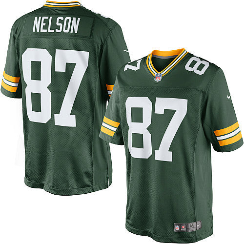 Jordy Nelson Nike Elite NFL football jersey (Green) - Sports Nut Emporium