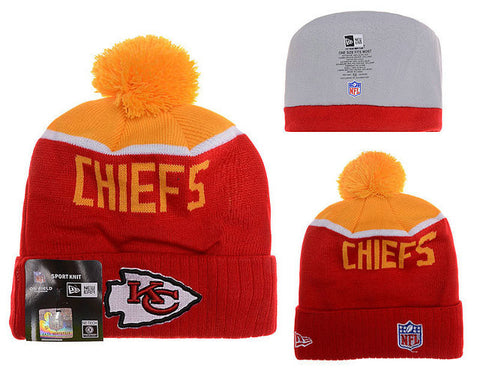 Kansas City Chiefs winter Knit Beanie 016 - Sports Nut Emporium